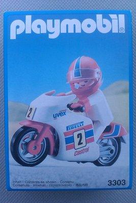 Playmobil 3303 - Racing Motorcycle - Box