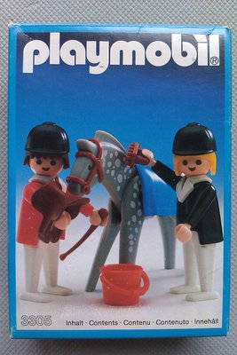 Playmobil 3305-ant - Horse And Riders - Box