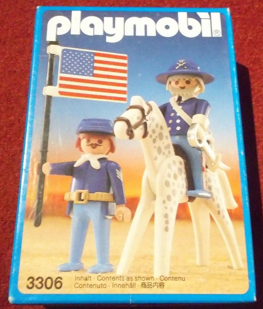 Playmobil 3306v1 - US General and Sergent - Box