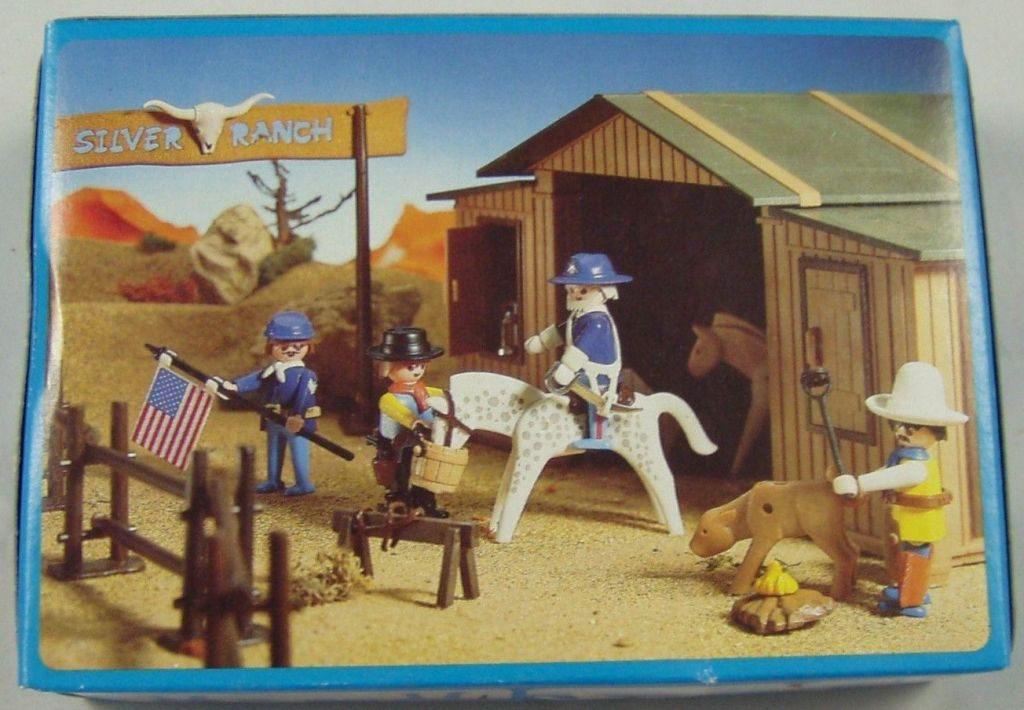 Playmobil 3306v3 - US General and Sergent - Box