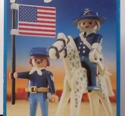 Playmobil - 3306v3 - US General and Sergent