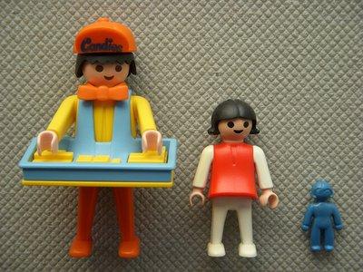 Playmobil 3307 - Candy Man - Back