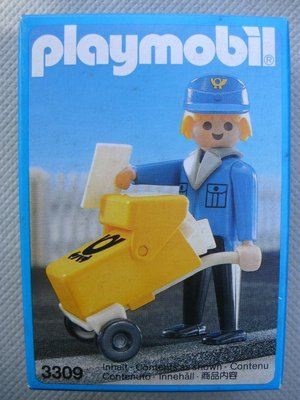 Playmobil 3309 - Postal Worker - Box