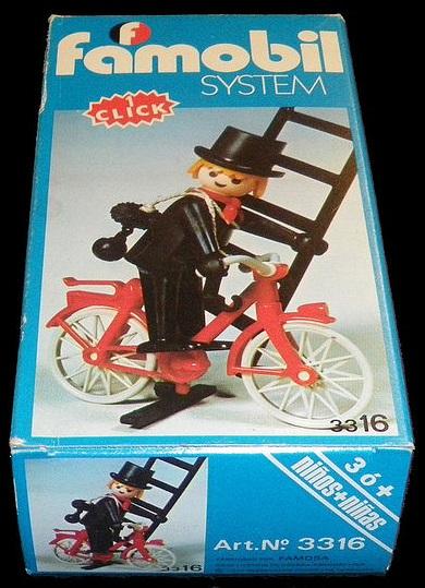 Playmobil 3316-fam - Chimney Cleaner - Box