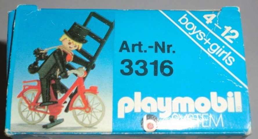 Playmobil 3316s1 - Chimney Cleaner - Back