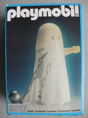Playmobil 3317 - Glow-In-The-Dark Ghost - Box