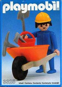 Playmobil 3325 - Construction Worker - Box
