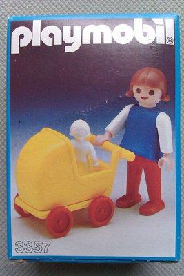 Playmobil 3357 - Girl With Pram - Box