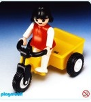 Playmobil - 3359 - Girl and Tricycle