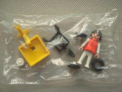 Playmobil 3359 - Girl and Tricycle - Back