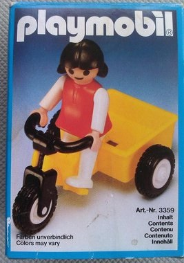 Playmobil 3359 - Girl and Tricycle - Box