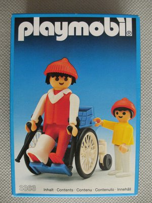 Playmobil 3363 - Patient In Wheelchair - Box