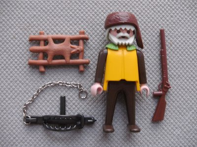 Playmobil 3394 - Trapper - Back