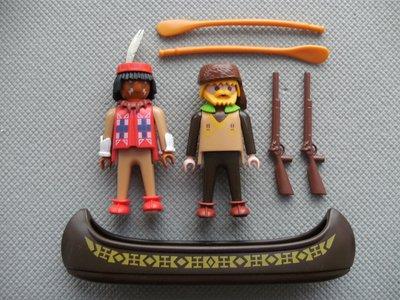 Playmobil 3397-fra - Trackers Canoe - Back