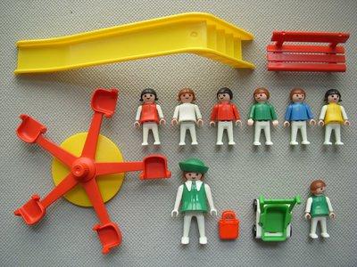 Playmobil 3416v1 - Playground - Back