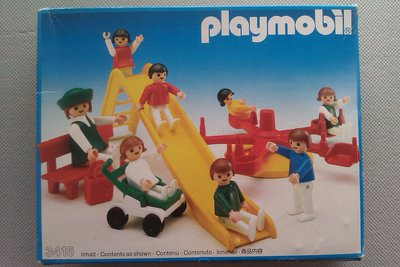 Playmobil 3416v2 - Playground - Box