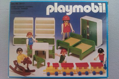 Playmobil 3417 - Children's Playroom - Box