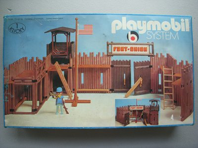 Playmobil 3420 - Fort - Union - Superset - Box