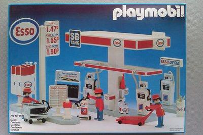 Playmobil 3439 - Esso Station - Box