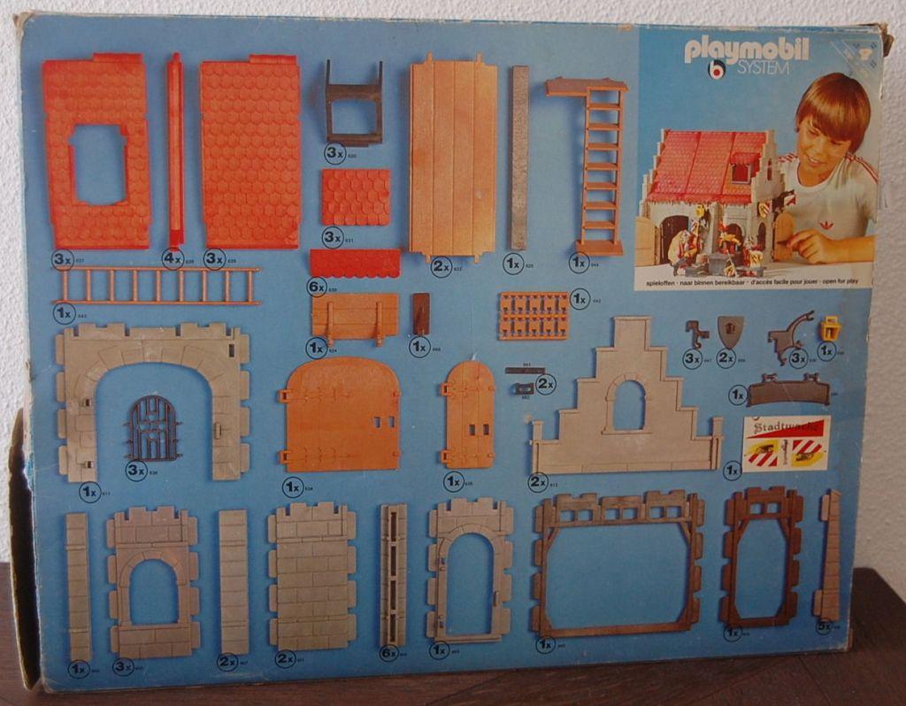 Playmobil 3444v1 - Guard Room - Box