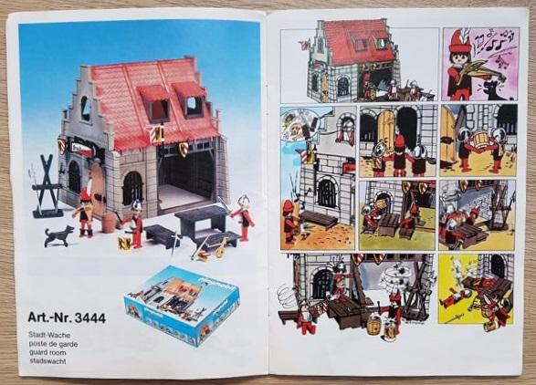 Playmobil 3444v1 - Guard Room - Back