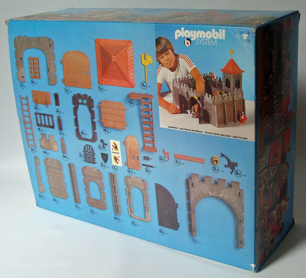 Playmobil 3446v1 - Council rampart - Back