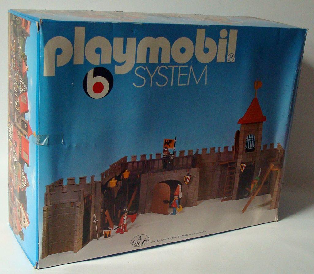 Playmobil 3446v1 - Stadtmauer mit Turm - Box