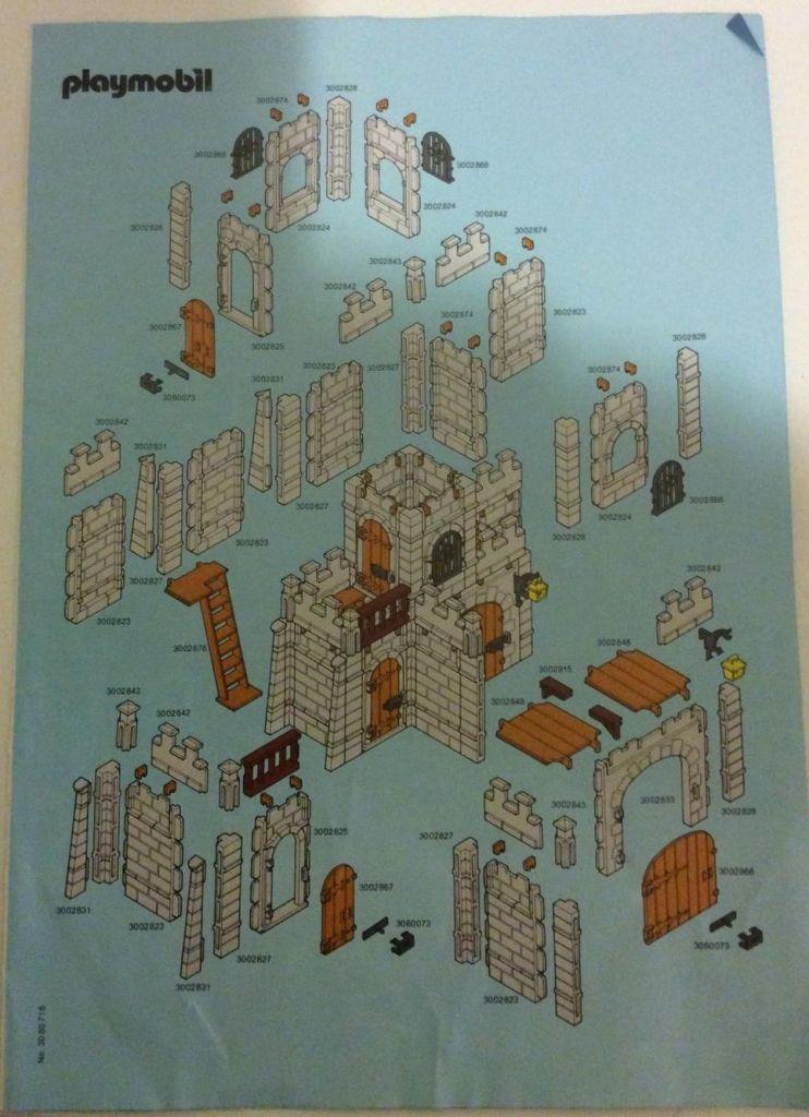 Playmobil 3446v4 - Small castle - Box