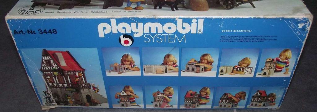 Playmobil 3448v1 - Medieval Inn - Back
