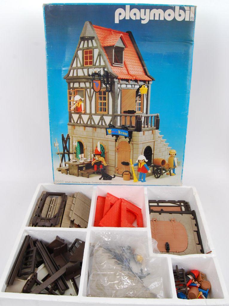 Playmobil 3448v3 - Medieval Inn - Back
