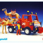 Playmobil - 3452v1 - Circus Truck With Camel
