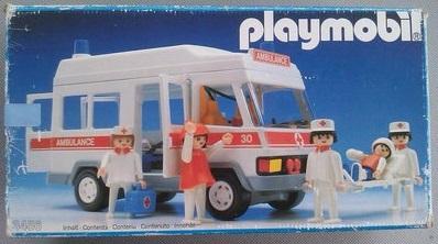 Playmobil 3456s1v1 - Ambulance - Box