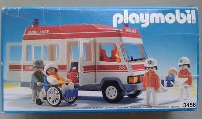 Playmobil 3456s1v3 - Ambulance - Box