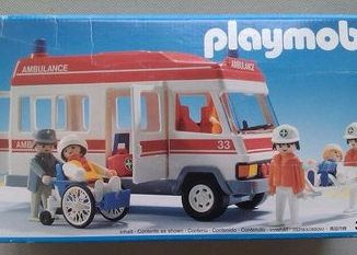 Playmobil - 3456s1v3 - Ambulance