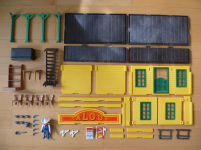 Playmobil 3461 - Saloon - Back