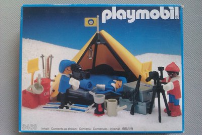 Playmobil 3463 - Polar Explorers - Box