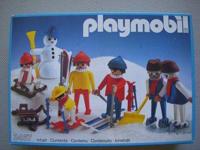 Playmobil 3467 - Wintersport Family - Box
