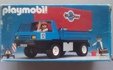Playmobil 3476 - EUROtrans Truck - Box