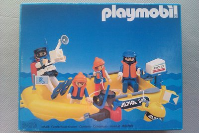 Playmobil 3479 - Scuba Divers And Yellow Raft - Box