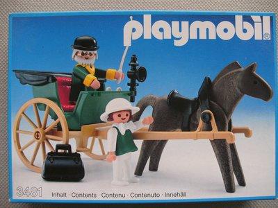 Playmobil 3481 - Western Wagon - Box
