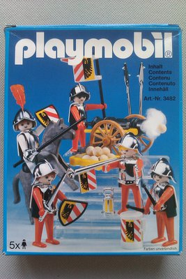 Playmobil 3482 - Knights - See 3052 - Box