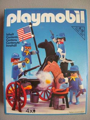 Playmobil 3485v1 - U.S. Cavalry - Box