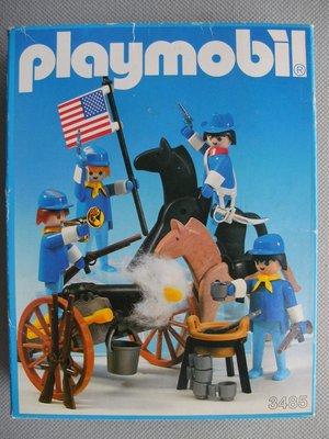 Playmobil 3485v2 - U.S. Cavalry - Box