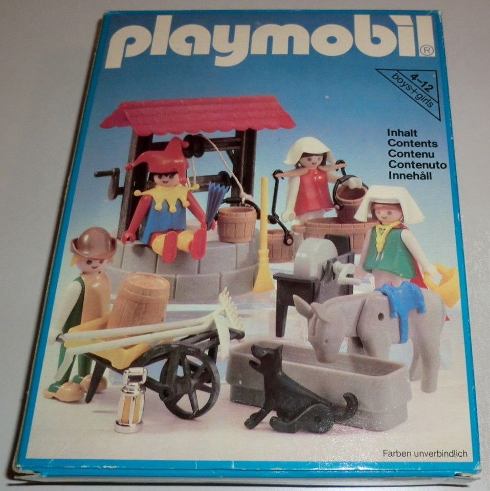Playmobil 3487 - Water Well And Fool. - Box