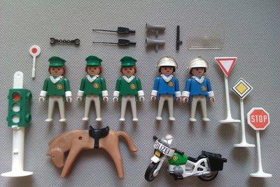 Playmobil 3494 - Police Set - Back