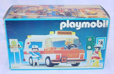 Playmobil 3521v1 - School Bus - Box
