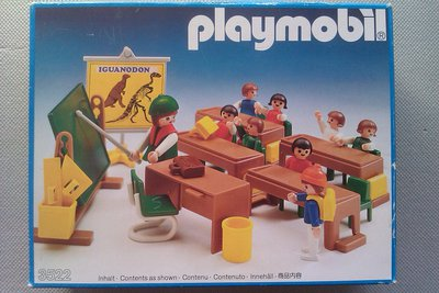 Playmobil 3522 - Classroom - Brown - Box