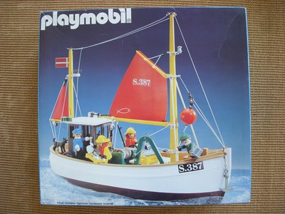Playmobil 3551 - Fishing Boat Susanne - Box