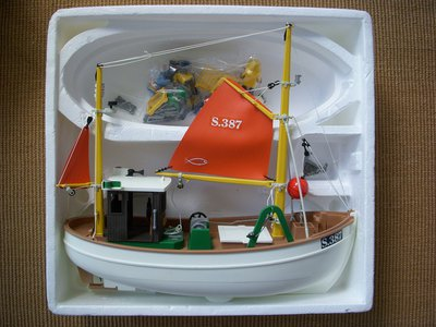 Playmobil 3551 - Fishing Boat Susanne - Back