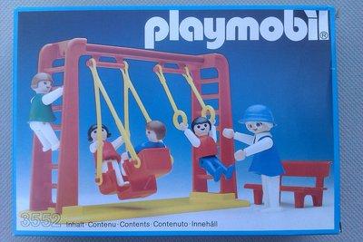 Playmobil 3552 - Children With Swing - Box